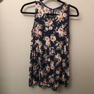 Forever 21: Floral Tunic Dress
